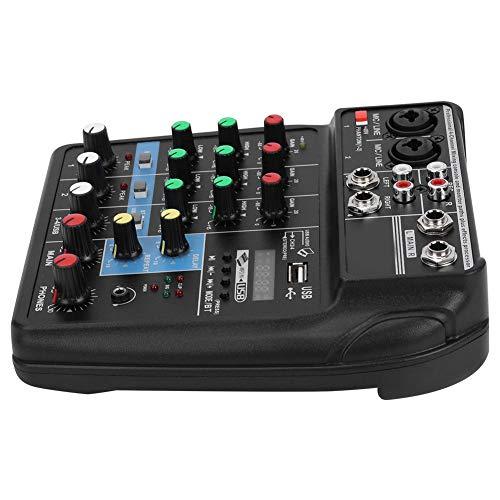 Consola de placa de sonido, Mezclador de escenario multipropósito profesional para equipos...