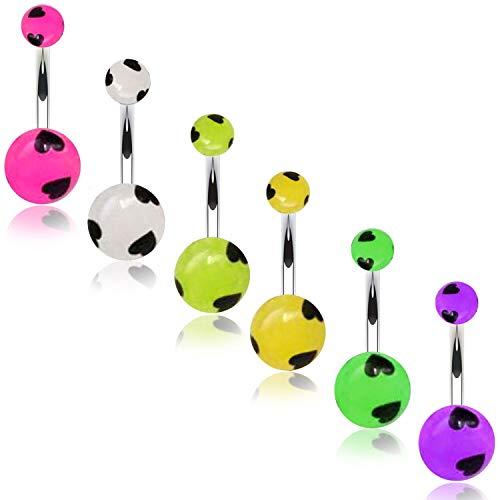 Glow Belly Navel Ring - 3