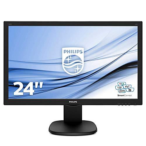 Philips 243S5LJMB/00 24 Full HD LCD Monitor LCD/TFT 59.9 centimeters, Black
