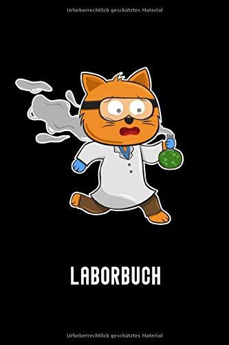 Laborbuch: A5 Kariert Laborjournal Labor Journal Laborheft Chemiker Physiker Wissenschaftler Nerd Geek