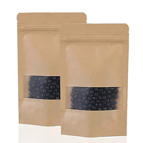 Bolsas de Sellado de Agarre Ziplock Reutilizables de 50 Piez