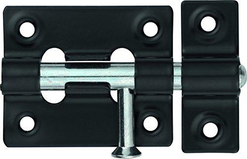 Abus SRR45 BL B - Pestillo de acero acabado en negro 45mm blister