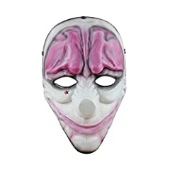 The mask is made of FRP(Fiber Reinforced Plastics) which is very thick and durable. It's strong enough to take a blow. There are 3 padding and 5 riveted on straps hooked to a ring in the back so it stays put when you plays. For the 5 straps are adjus...