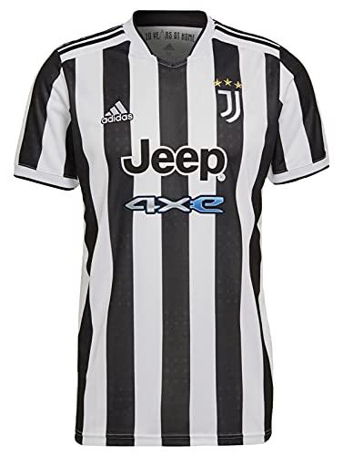 adidas Men's Juventus 2021-22 Home Jersey (X-Large, White/Black)