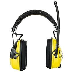 powerful Stanley Sync Digital AM / FM / MP3 Headphones (with Radio) (RST-63012)