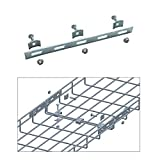 Quest Manufacturing Cable Tray Strengthening Bar Kit, Zinc (CT0002-03)