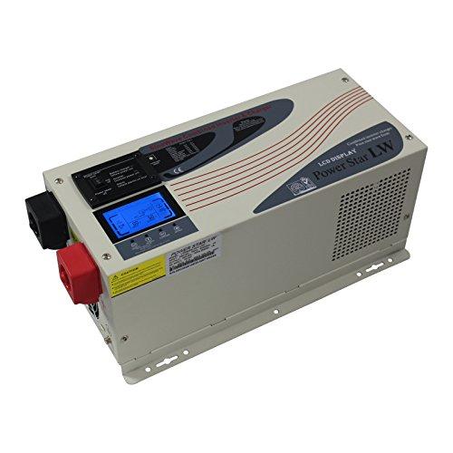 3000 W 12 V baja frecuencia sinusoidal puro off-Grid inversor de corriente 220V - 240V AC con manejo de potencia de hasta 9000 W (3KW nominal, 9kW supresión de alimentación de corriente)