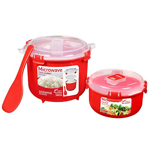 Sistema Mikrowelle-Reiskocher, Plastic, 2,6L and 91,5 ml