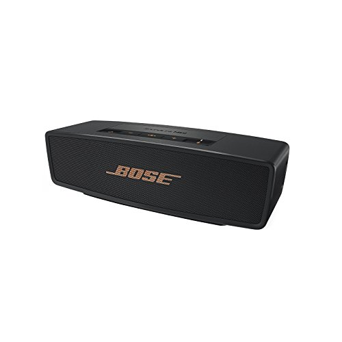 Bose ® SoundLink Mini Bluetooth Lautsprecher II schwarz/gold (Sonderedition)