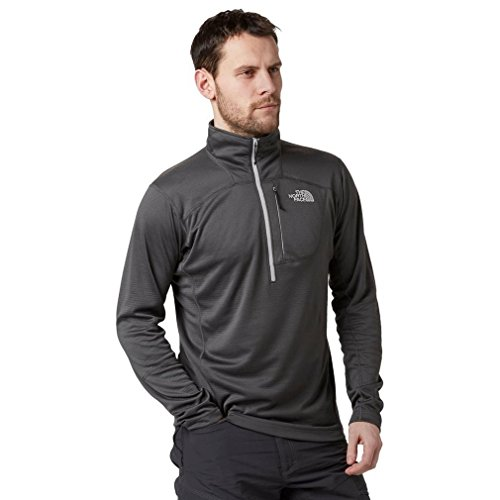North Face Infiesto Veste 1/4 Zip Homme, Asphalt Grey, FR : L (Taille Fabricant : L)