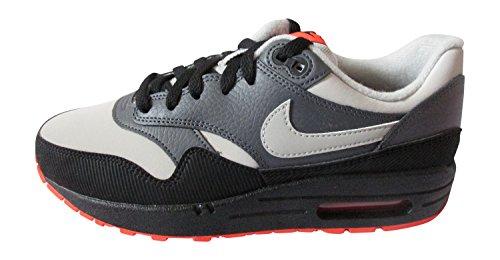 NIKE Air Max 1 (GS) Trainers 555766 Sneakers Shoes (UK 5.5 us 6Y EU 38.5, Dark Grey Granite Black 096)