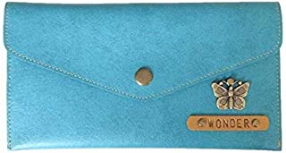 The Junket Personalized (Name/Charm) Wallet for Women and Girls