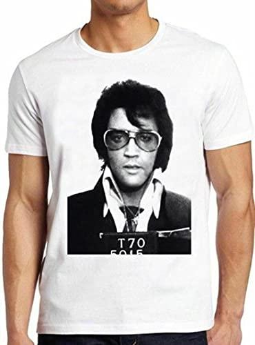 Elvis Presley Mugshot King Rock N Roll Tee Elvis T Shirt