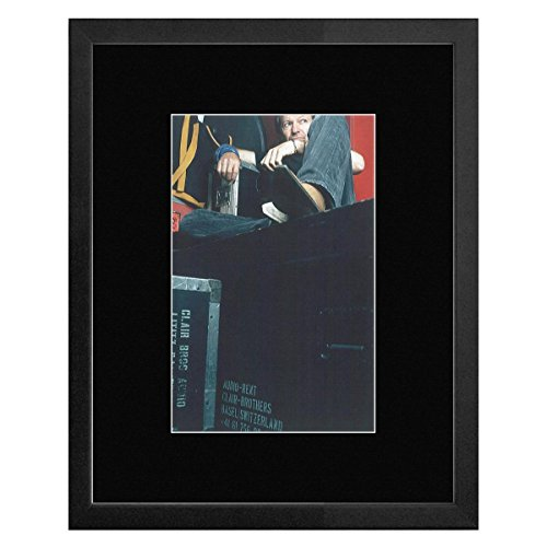 Preisvergleich Produktbild Stick It On Your Wall Vasco Rossi von Efrem Raimondi 2002 gerahmtes Mini Poster 33 x 28 cm