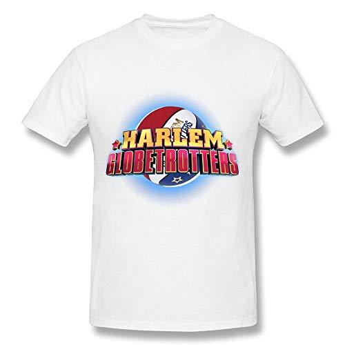 NR Harlem Globetrotters World Tour 2016 T Shirt for Men White (Size:L)