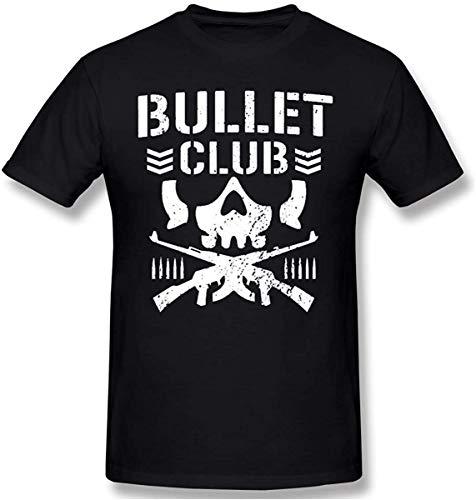 Hayapse Men T Shirts Print Graphic Bullet Club Short Sleeves T-Shirts