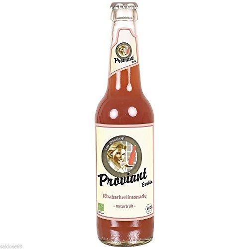 12 Flaschen Proviant Berlin Rhabarberlimonade a 0,33L inclusive 0.96€ MEHRWEG Pfand
