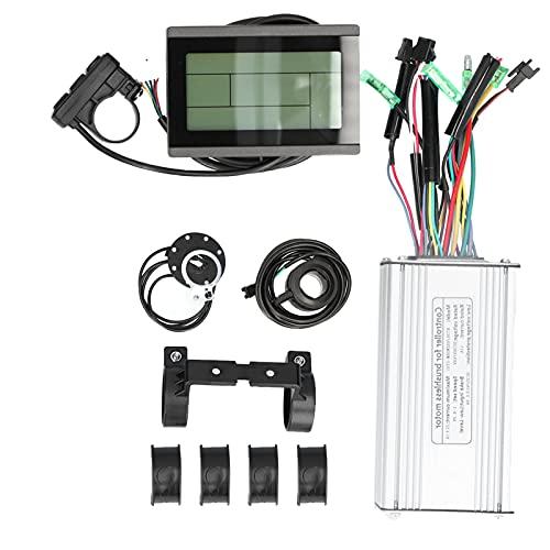 CUTULAMO Kit de Controlador de Bicicleta eléctrica, Juego de conversión de Controlador de Bicicleta eléctrica Mayor kilometraje Continuo Bajo Consumo de Corriente para Bicicleta eléctrica de