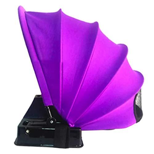 Tent Sunscreen Anti-Uv Camping Canopy Outdoor Rainwater Sunshade Shed Professional Fashion Small Umbrella - Purple
