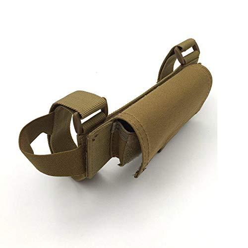 yanshan Ambidiestro 5 Ronda táctica Culata Escopeta Shell Bullet Bolsa munición Portador Pistola Accesorios