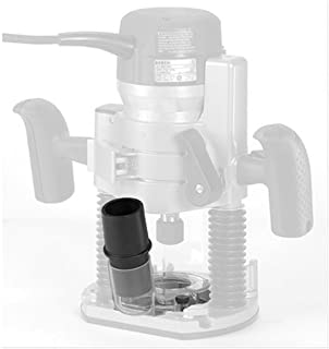 hand held router dust collection