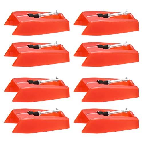 OFNMY Ersatznadel Plattenspieler Nadel universal für meiste Plattenspieler Phonograph, Vinyl Plattenspieler(8 Stück)