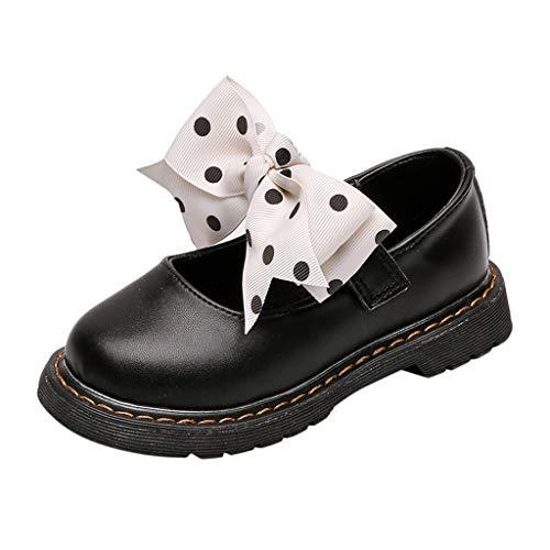 BURFLY Baby Mädchen Kinder rutschfeste Freizeitschuhe Lederschuhe faule Schuhe Hochzeit Tanzschuhe