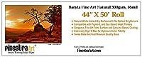 44x 50「ロールBaryta Fineアート自然インクジェット用紙300gsm