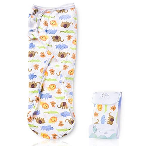 EMJA Premium Baby Pucksack 0-3 Monate - Einziges Pucktuch System Von Deutschen Hebammen Entwickelt - Einzige Puckdecke Mit Extra Weichem Stoff Und Reißverschluss - 4x Längere Schlafdauer
