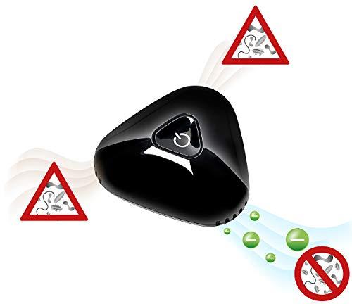 newgen medicals Mini-Ozongerät: Mini-Akku-Luftreiniger und Ionisator für Auto, Kühlschrank u.v.m. (Mini-Rauchverzehrer)