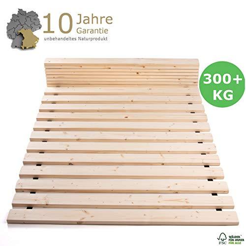 TUGA - Holztech Rollrost 90x200cm - 300 kg Lattenrost Rolllattenrost Premium Qualitätsarbeit aus Deutschland