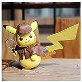 C&S Pokémon Detective Pikachu Figurine en PVC exquis Collection Multicolore 3,9'