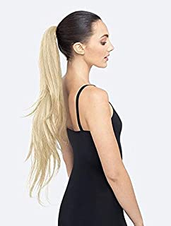 PRETTYPARTY Ruby Long Layered Pony Tail on Band Hair Extension Accessory (Light Blonde)