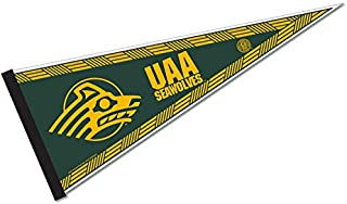 Rico Industries NCAA University of Alaska Anchorage Sports Related Pennants, Green & Yellow, One Size