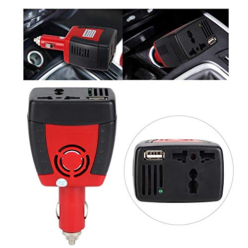 Great Features Of Nannday Car Power Inverter, Vehicle Adapter 150W DC 12V to AC 110v/ 220V Car Power...