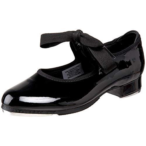 Bloch Girls Dance Annie Tyette Tap Shoe, Black Patent, 1.5 Medium US