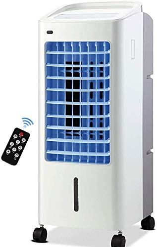 XPfj Enfriadores evaporativos Refrigerador de Aire del Ventilador Control Remoto a la casa Un Solo Tipo de frío refrigerador móvil Acondicionador de Aire pequeño