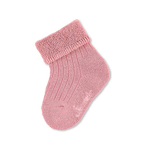 Sterntaler Unisex Baby Söckchen Uni Socken, rosa, 14
