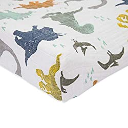 2. Little Unicorn Dino Friends Changing Pad Cover