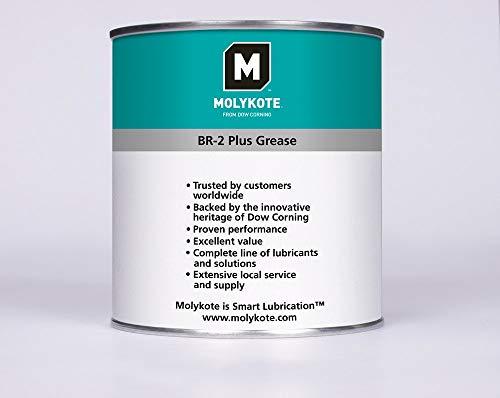 Molykote Grasa de Alto Rendimiento Grasa Universal BR2 Plus de 1 kg