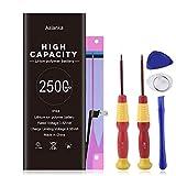 Batería de iPhone 6s de Alta Capacidad Aslanka 2500mAh, con una Capacidad 45% más Grande Que la batería Original, con un Kit Completo de Herramientas de reparación, Instrucciones de Uso