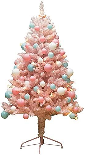 Decoraciones navideñas, Pinillo de la flor de cerezo Pino artificial, árbol de navidad Decoración a gran escala Decoración de la sala de estar casera: 60 cm (2 pies) ( Color : A , Size : 60cm(2FT) )