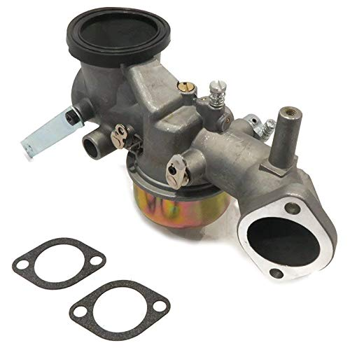 QIUXIANG Carburador con la Junta en Forma for Briggs & Stratton ampFor 491031 490499 491026 281707 12HP Motor de Carb (Color : Silver)