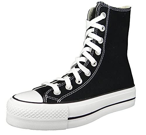Converse Damen High Sneaker Chuck Taylor All Star Lift XHI 170522C Schwarz, Groesse:39 EU