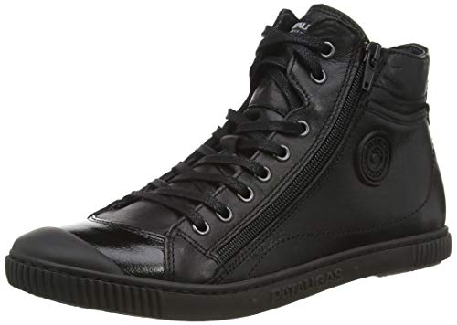 Pataugas Damen BONO/V F4D Hohe Sneaker, Schwarz (Noir 850), 36 EU