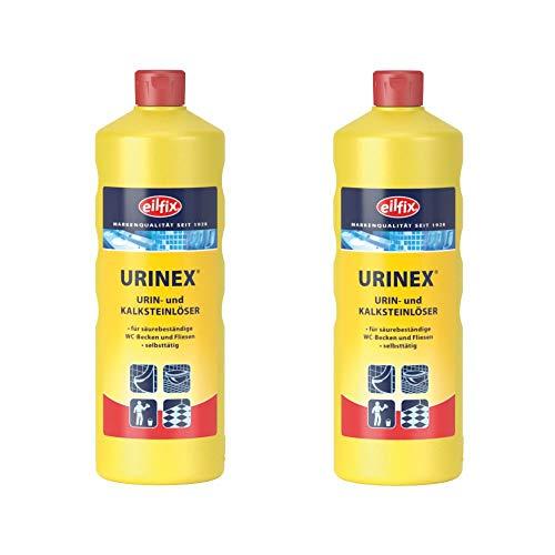 Urin- und Kalksteinlöser   Eilfix Urinex   2 x 1 Liter Flasche