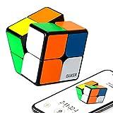 ROXENDA Speed Cube Electrónico Giiker i2 App Control Remoto Profesional Cubo de Velocidad 2x2 - Cubo Magnético de Sincronización Aplicaciones Bluetooth para una Recuperación Rápida
