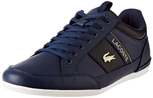 Lacoste Herren Chaymon 0120 1 CMA Sneaker, NVY Blk Blue, 43 EU