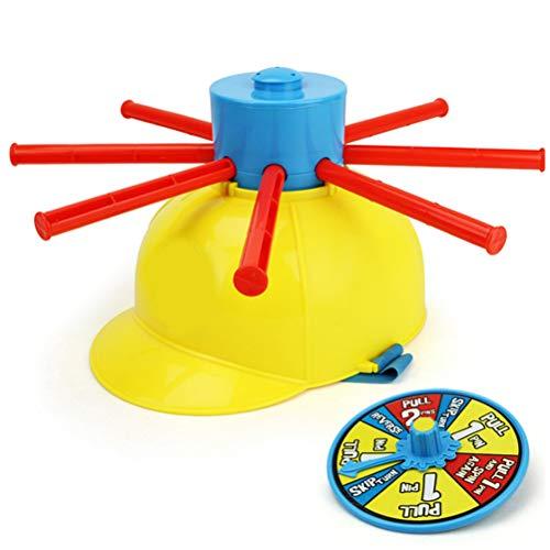 OTentW Juego de Fiesta de Cabeza húmeda, Juego de Fiesta de Cabeza húmeda, Juguetes de Agua Multicolores, Ruleta de Agua de Cabeza húmeda, Juego de Agua con Sombrero húmedo