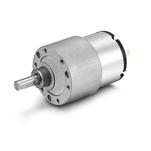 Aexit DC Bedienungselemente & Anzeigen 6V 29RPM 6mm elektrische Getriebekasten Industriemotoren Geschwindigkeitsreduzierung Motor